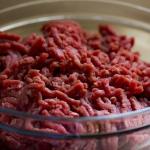 冷蔵庫で挽き肉の冷凍保存。賞味期限は?